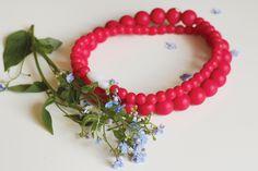 Chewbeez Kaukette, Small Pearls Big, Scarlet Red Baby Products, Scarlet, Pearls, Big, Jewelry, Jewlery, Jewerly, Beads, Schmuck