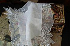 Носовой платок2. - белый,носовой платочек,носовой платок,платок,белый цвет