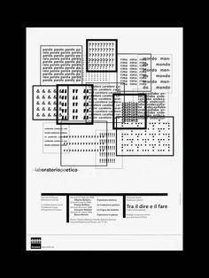 Studio Dolcini - Tra le dire e il fare Laboratorio poetico 1998.