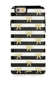 Bow Stripe iPhone 6/6s Case by SONIX on @nordstrom_rack Sponsored by Nordstrom Rack.