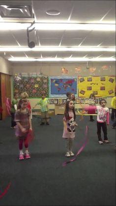 grade students perform Trepak from the Nutcracker with ribbons. Kindergarten Music, Preschool Music, Teaching Music, Music Lessons For Kids, Music For Kids, Children Music, Movement Activities, Music Activities, 2nd Grade Music