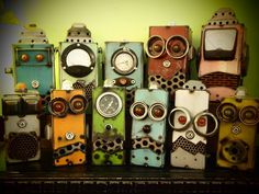 Up-Cycled Robots by Voigt Metal $80
