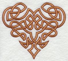irish hearts images | Intricate Celtic knotwork makes an elegant embellishment on an endless ...