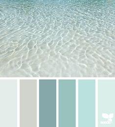67 Ideas For Vintage Bedroom Decor Color Palettes Design Seeds Design Seeds, Interior Paint Colors, Paint Colors For Home, Beach Paint Colors, Beach Bedroom Colors, Neutral Bathroom Colors, Turquoise Paint Colors, Beach House Colors, Bathroom Color Schemes