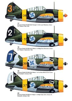 F2A-1 Buffalo Model B-239 Navy Aircraft, Ww2 Aircraft, Military Aircraft, Finland Air, Brewster Buffalo, Finnish Air Force, Aviation Art, Luftwaffe, Cutaway