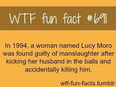 WTF Fun Facts is updated daily with interesting & funny random facts. We post about health, celebs/people, places, animals, history information and much more. New facts all day - every day! Wierd Facts, Wtf Fun Facts, True Facts, Funny Facts, Random Facts, Crazy Facts, Strange Facts, Movie Facts, Useless Knowledge