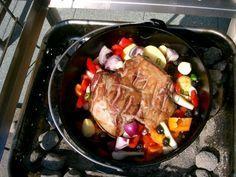 Rezept - Lammkeule aus dem Dutch Oven