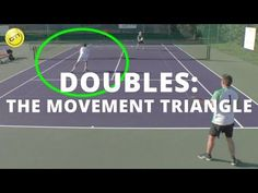 OTI Instructor Gregg le Sueur explains his movement triangle principle, which is THE key to becoming a great active net player in doubles! Tennis Lessons, Tennis Tips, Tennis Videos, Tennis Party, Play Tennis, Tennis Shop, Beach Tennis, Tennis Doubles, Tennis Techniques