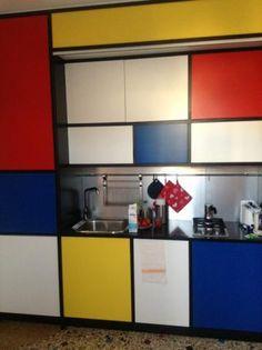 mondrian type interiors - Google Search