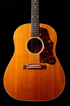 Vintage Gibson 1955 J-50 Natural Acoustic Guitar