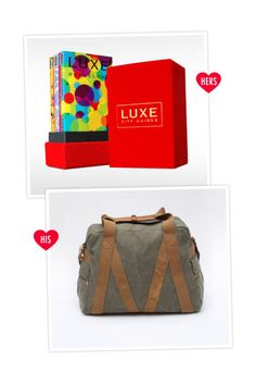 It Takes Two: A Valentine's Day Gift Guide for Different Types of Couples.    From Elle.