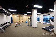 Private personal training studio