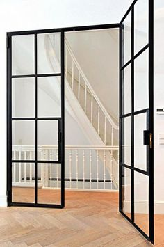 Metal framing - windows and doors - Pascal Delmotte interior design agency