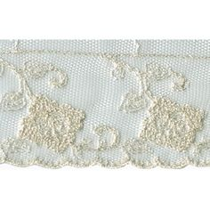 Lace Heaven carries 2 Cream Netting Lace Trim and many other kinds of netting lace trim! Pride And Prejudice, Lace Trim, Cream, Creme Caramel, Lace Overlay