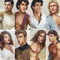 disney princes in real life Disney Animation, Disney Pixar, Disney E Dreamworks, Heros Disney, Disney Art, Disney Characters, Funny Disney, Disney Princes Real Life, Disney Princesses And Princes