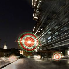 Currently working on some sideprojects but there are new pictures coming up soon.  This is another one taken from the series @dekrookbe.   #ghent #negenduust #krook #graffitilights #graffiti #circle #circles #light #lightpainting #urban #nightlife #buildings #architecture #library #stars