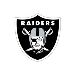 NFL Oakland Raiders Window Film, Multicolor