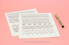 Curso-gratis-cómo-dibujar-un-mandala-05 Woman, Creative, How To Draw, Mandalas, Patterns, Women
