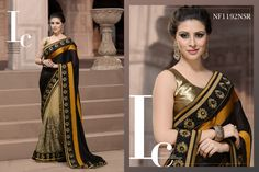 #Graceful #Black #Shaded #Saree #For #The #Confident #Women $97.27 www.fashionumang.com