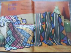 Second Silver - Mccalls Knit and Crochet for the Home Design Ideas 1989 Vol 35 afghan table window bed