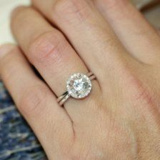 Engagement & Weddings Rings, Bands - Page 4