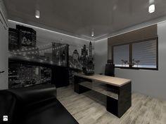 Gabinet w Męskim Stylu - zdjęcie od wyszomirska design - Gabinet - Styl Nowoczesny - wyszomirska design