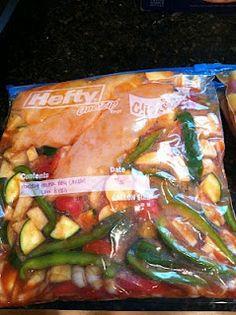 Healthy BBQ Chicken, Freezer to Crockpot recipe