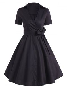 GET $50 NOW | Join RoseGal: Get YOUR $50 NOW!http://www.rosegal.com/vintage-dresses/summer-retro-bowknot-belted-wrap-851650.html?seid=7329543rg851650