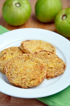 Buttermilk Marinated Fried Green Tomatoes