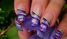 32 Simple And Cute Nail Art Designs – Kate Maxson 32 Simple And Cute Nail Art Designs Purple nail designs Nail Designs 2015, Purple Nail Designs, Cute Nail Art Designs, Acrylic Nail Designs, Fingernail Designs, Beautiful Nail Designs, French Nails, Cute Nails, Pretty Nails
