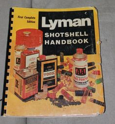 1969 Lyman Shotshell Handbook First Complete Edition