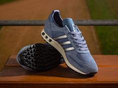 check out 61e5b 4ef45 adidas Originals LA Trainer - Slate - Metallic Silver - White Vapour -  SneakerNews.com