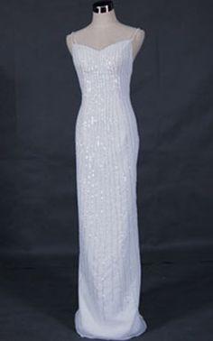 sequins wedding dress