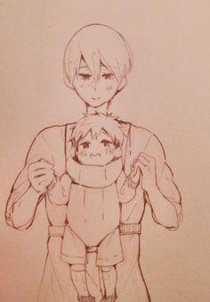 ~ Free! ~ :: Haru & Baby Makoto