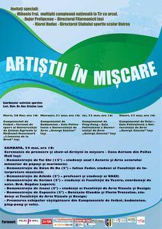 """""""Artisti in miscare"""" la Universitatea de Arte """"G. Enescu"""" Iasi"""