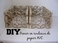 Boucle d'Aure: DIY : Panier en rouleaux de papier WC                                                                                                                                                                                 Plus