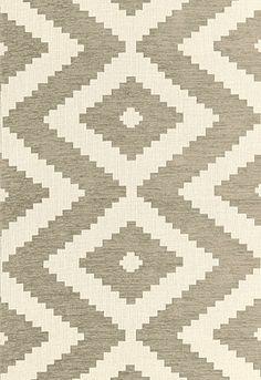 Vail Chenille Schumacher Fabric--like a cross between a chevron and an ikat. LOVE!
