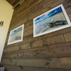 make it really real If you're thinking barn wood paneling would be so cool to have, ours is created with the highest quality wood and craftsmanship you'll find — plus, we don't know of Barnwood Paneling, Tiny House Nation, Interior Walls, Barn Wood, Farmhouse Decor, Ceiling, Flooring, Cool Stuff, Table