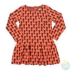 "Lily Balou - Dress ""Fiona"" - Cats_ HollekeBolleke_online_kinderkleding_webshop_AW16_LB_"