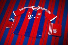 Picture of adidas Unveils Bayern Munich's New 2014/15 Kit