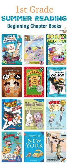 1st Grade Summer Reading List (Ages 6 - 7)