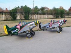 P-51 Mustang Pedal Airplane Plane Complete by PuddlejumpSquadron