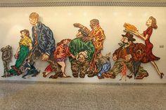 Carlos Matuk: Transita de maneira plural nas artes plásticas: sua obra inclui ilustrações, murais de grafites, desenhos e pinturas.