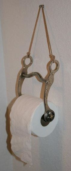 Repurposing a western bit for a TP holder...whoa...( see what I did there??? ;] )