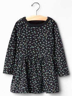 Floral sweatshirt dress Product Image