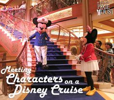A Pinch of Pixie Dust: Meeting Characters on a Disney Cruise Disney Cruise Alaska, Disney Magic Cruise, Disney Fantasy Cruise, Disney Time, Walt Disney World, Disneyland Cruise, Cruise Vacation, Disney Vacations, Family Cruise