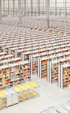 Think Your Office Is Soulless? : Check Out This Amazon Fulfillment Center / FastCoDesign   #books