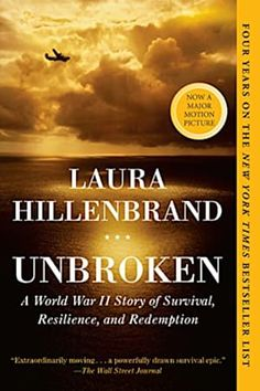 Unbroken: A World War II Story of Survival, Resilience, and.: Unbroken: A World War II Story of Survival, Resilience, and… New York Times, Ny Times, Book Club Books, Book Lists, Books To Read, Buy Books, Book Clubs, Book Nerd, Entertainment Weekly