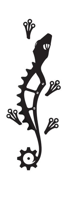 Mountain Bike Tattoo Designs | Bike tattoo. Designing one is kinda like frame building right?                                                                                                                                                     Más