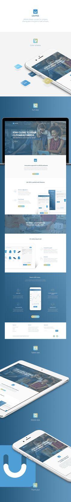 https://www.behance.net/gallery/26458659/UbrPOS-Website-design-concept